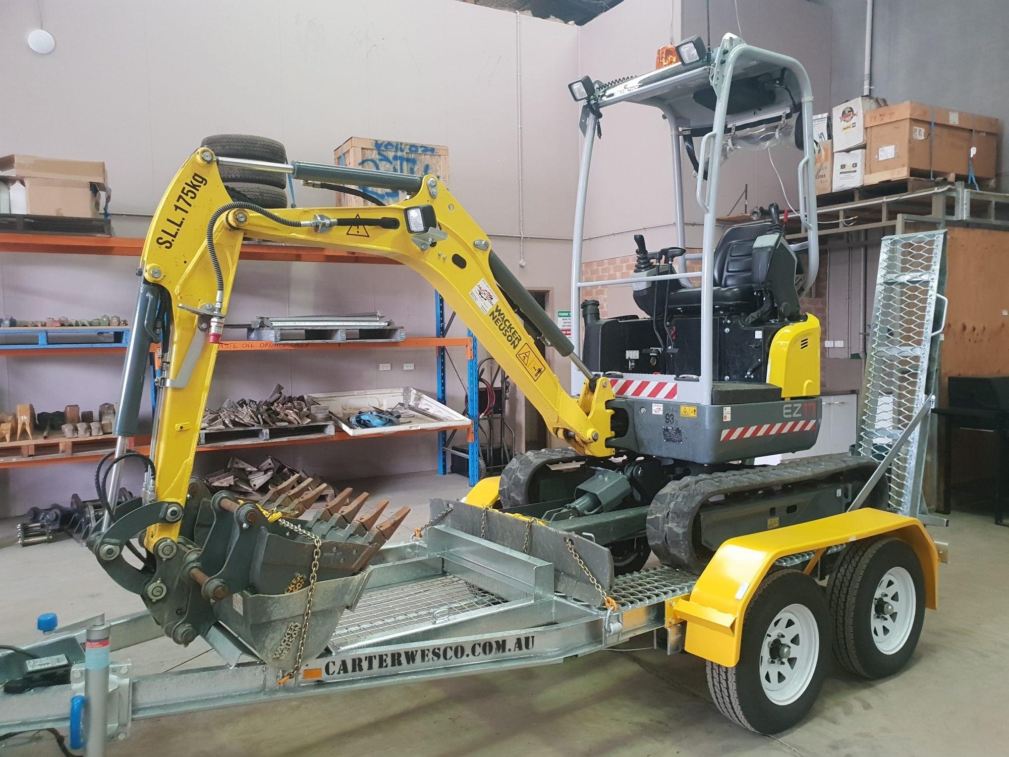 EZ17 Excavator Package