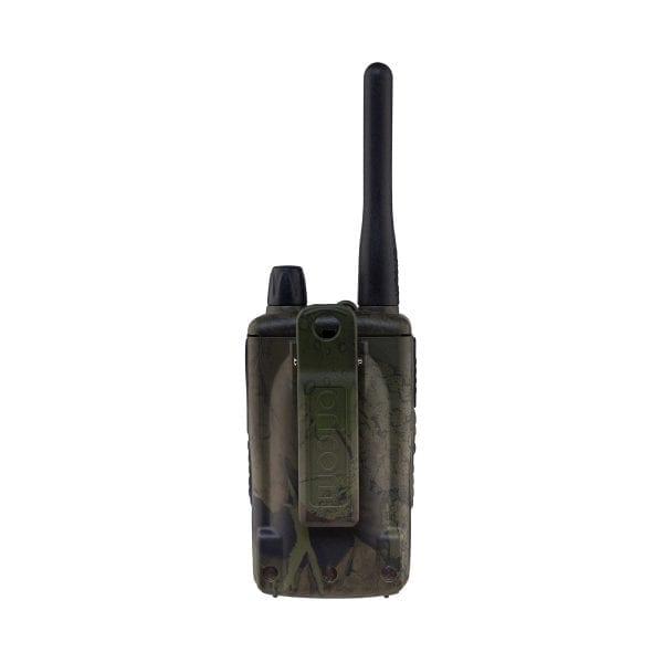 UHF CB Handheld 2-Way Radio - 80Ch. 5W Waterproof IP67 Portable Camo Ed.