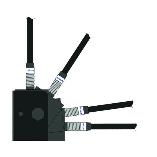 Folding Antena Bracket (Black)
