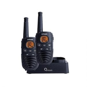 UHF CB Handheld 2-Way Radio - 80Ch. 1W + Chg Kit