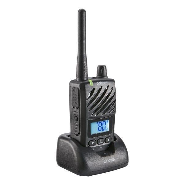UHF CB Handheld 2-Way Radio - 80Ch. 5W Waterproof IP67 Portable 5W