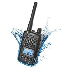 UHF CB Handheld 2-Way Radio - 80Ch. 5W Waterproof IP67 Portable 5W