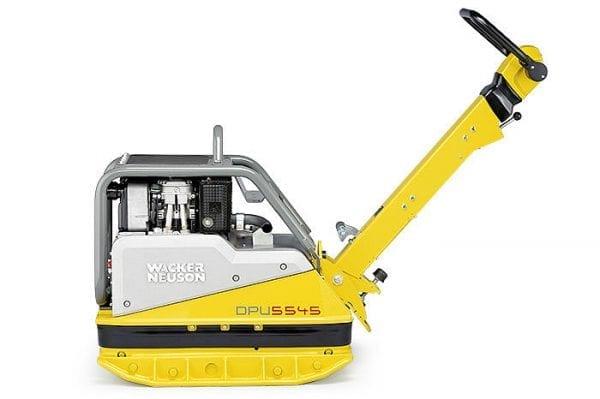 DPU5545He - Vibrating Plate - Key Start - Diesel