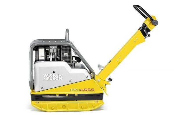 DPU6555HEC - Vibrating Plate- Key Start, Diesel, Compatec