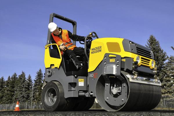 RD28.120.3 Double Drum Ride-On Roller - Diesel (German Built)