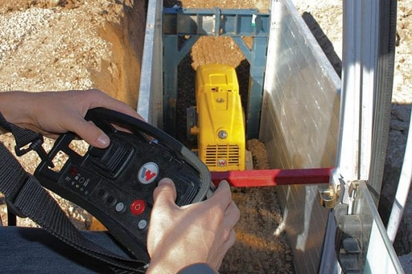 - Remote Controlled Trench Roller - Diesel