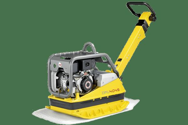 DPU4045Y - Vibrating Plate - Key Start, Diesel, C/W Low HAV Handle