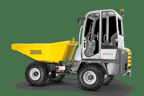 3001 Wheeled Dumper - ROPS