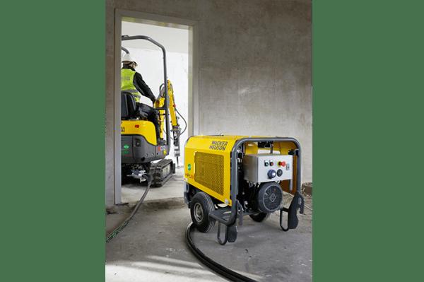 803 Dual Power Tracked Excavator - Electric &/or Diesel