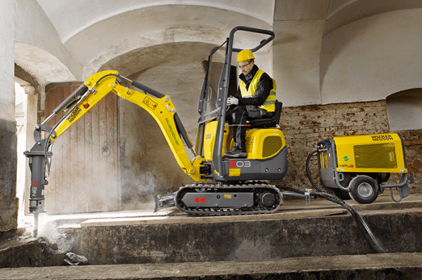 803 Dual Power Tracked Excavator - Electric &/or Diesel