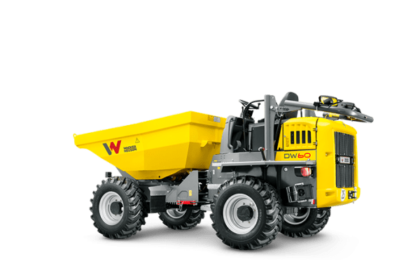 DW60 Wheeled Dumper - ROPS/Cabin