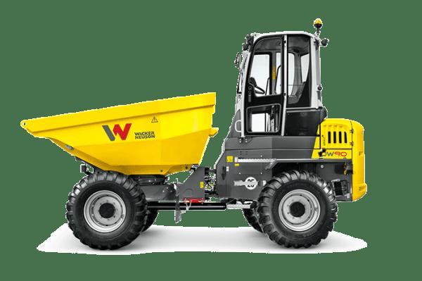 DW90 Wheeled Dumper - Cabin