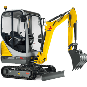 ET16 Tracked Excavator - Conventional Tail