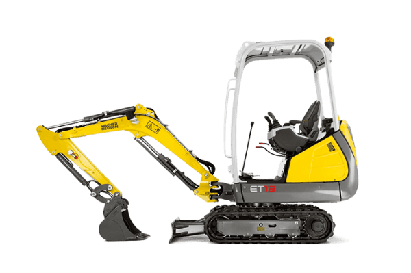 ET18-VDS Tracked Excavator - Conventional Tail