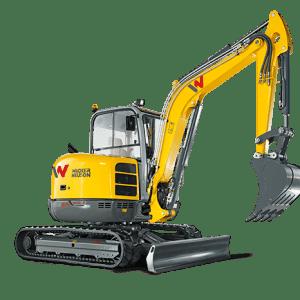 EZ50 Tracked Excavator - Zero Tail Swing - Incl. Easy Lock Hitch