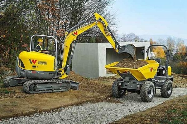 EZ53 Tracked Excavator - Zero Tail Swing - Incl. Easy Lock Hitch