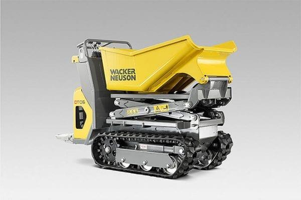 DT05 Tracked Dumper - Front Tip - Diesel