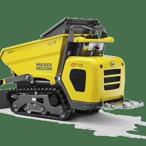 DT10 Tracked Dumper - Diesel - Swivel-Tip Skip