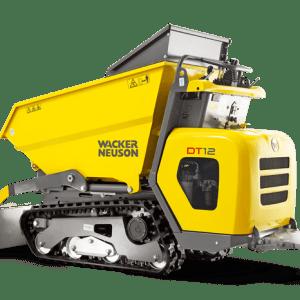 DT12 Tracked Dumper - Front Tip - Diesel