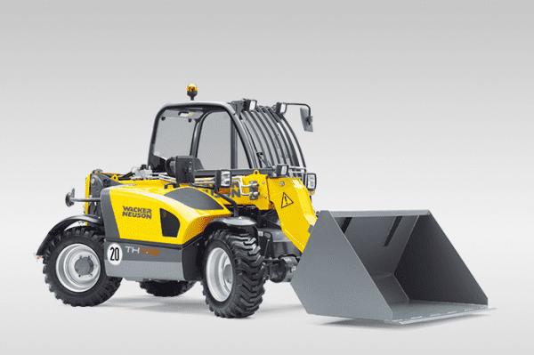 TH412 Telehandler - All Wheel Steer
