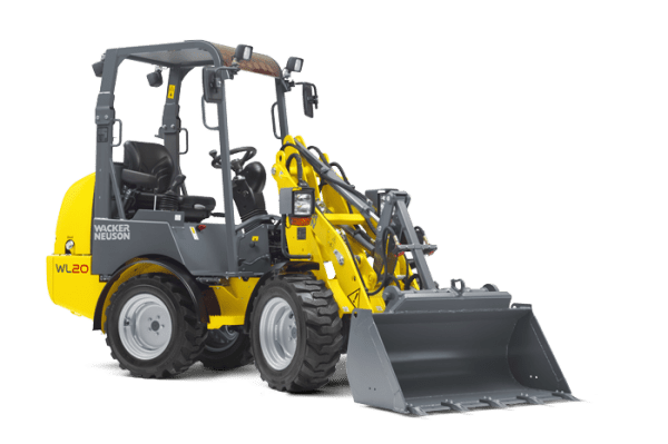WL20 Articulated Wheel Loader - Canopy or Cabin