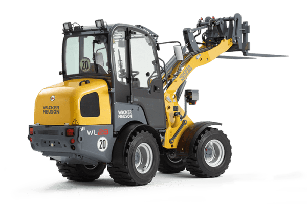 WL28 Articulated Wheel Loader - Canopy or Cabin