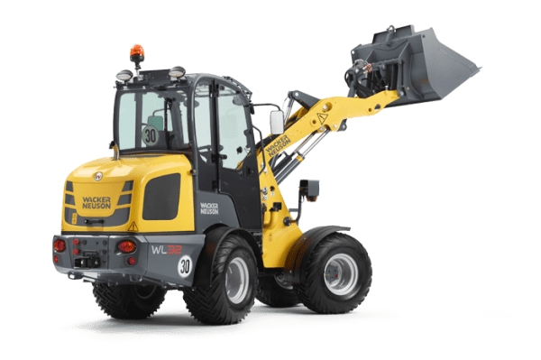 WL32 Articulated Wheel Loader - Canopy or Cabin