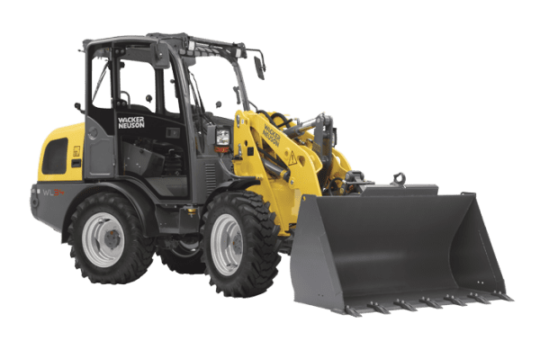 WL34 Articulated Wheel Loader - Cabin