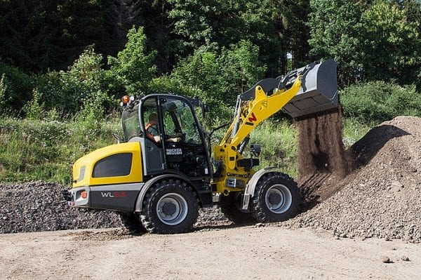 WL52 Articulated Wheel Loader - Cabin