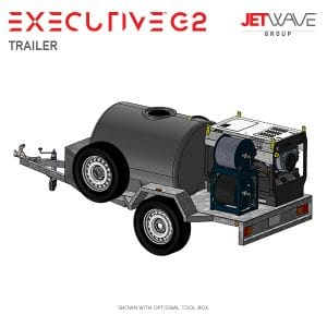 Jetwave Executive G2 High Pressure Water Trailer