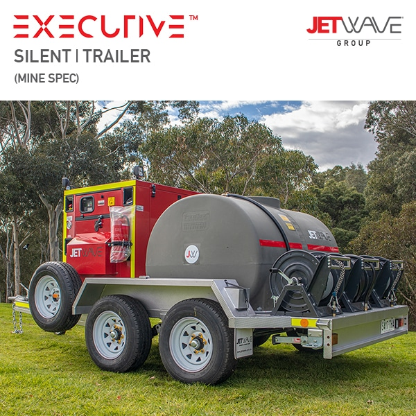 Jetwave Executive Silent High Pressure Water Trailer