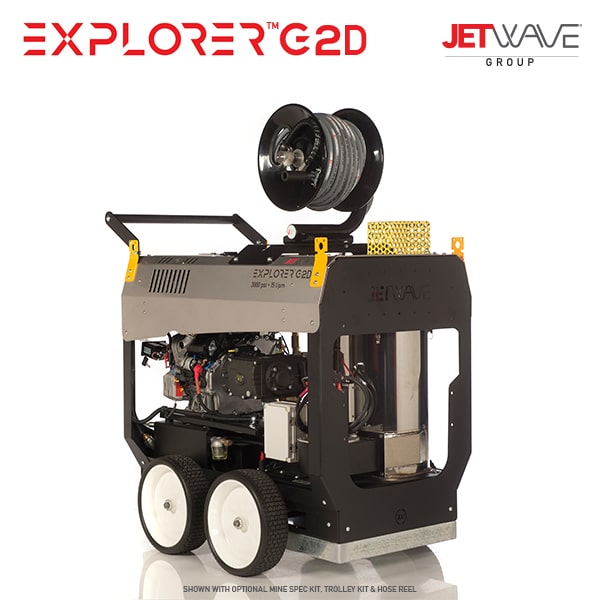 Jetwave Explorer G2D (210-15) High Pressure Water Cleaner - Diesel