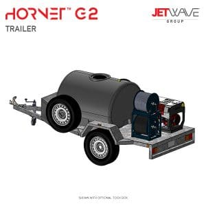 Jetwave Hornet G2 High Pressure Water Trailer