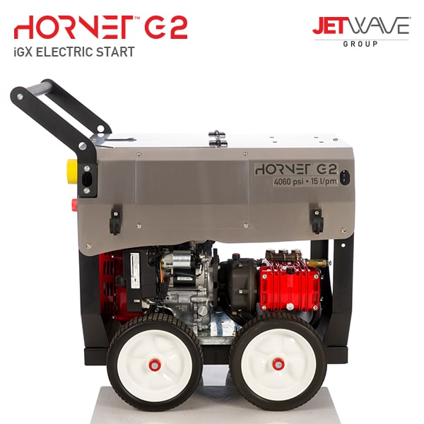 Jetwave Hornet G2 iGX Electric Start (4060-15) High Pressure Water Cleaner