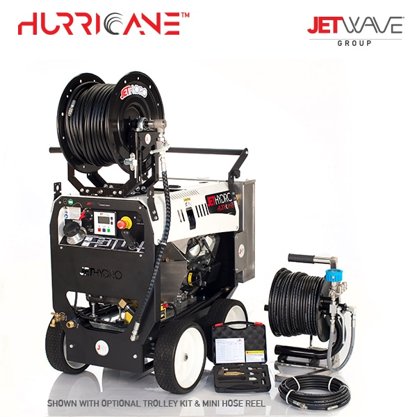 Jetwave JetHydro Hurricane (4400-33) Jetting & Drain Equipment