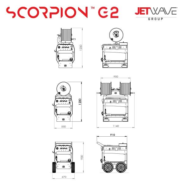 Jetwave Scorpion G2 300-26 High Pressure Water Cleaner