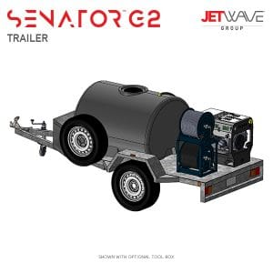 Jetwave Senator G2 High Pressure Water Trailer