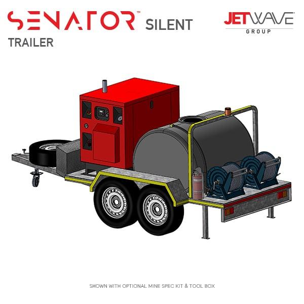 Jetwave Senator Silent High Pressure Water Trailer