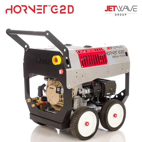 Jetwave Hornet G2D (210-15) High Pressure Water Cleaner - Diesel