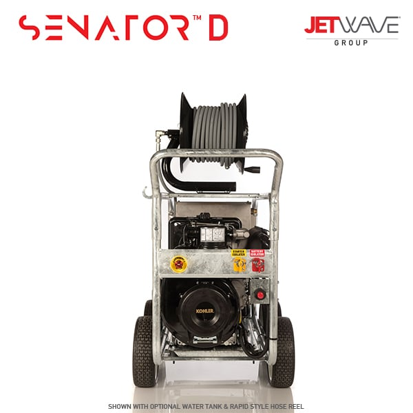 Jetwave Senator 350D High Pressure Water Cleaner - Diesel