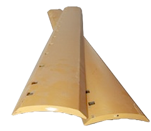 "Grader Blade HT 6'x8x3/4 - 13x5/8"" Holes (PN: 5D9558)"