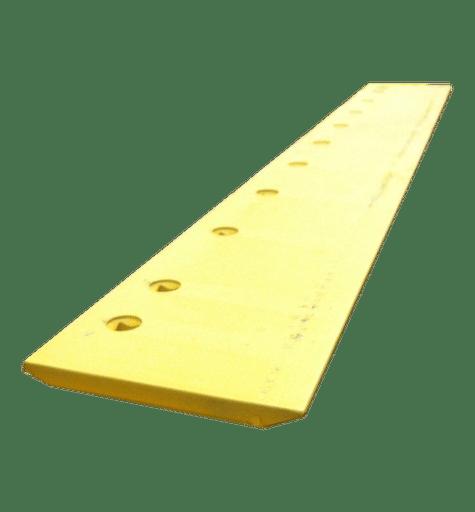 """Grader Blade HT 7'x10x1 3/8 (35mm) - 15x3/4"""" Holes FLAT (PN: 4T8316)"""