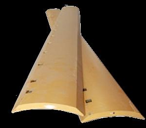 "Grader Blade HT 7'x6x5/8 - 15x3/4"" Holes (PN: 9J3658)"