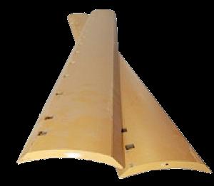 "Grader Blade HT 6'x8x5/8 - 13x3/4"" Holes (PN: 9J7701)"