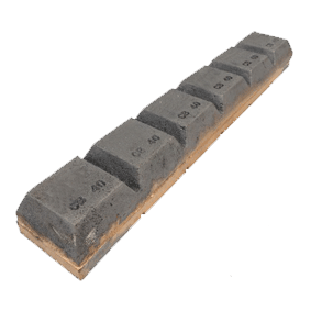 Chocky Bar 40 x 240mm Notched (PN: CB40N)