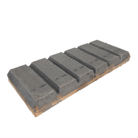 Chocky Bar 100 x 240mm Notched (PN: CB100N)