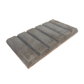 Chocky Bar 130 x 240mm Notched (PN: CB130N)