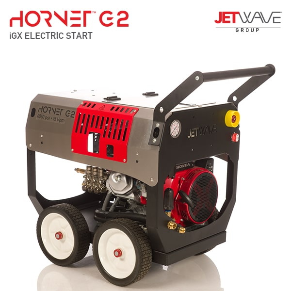 Jetwave Hornet G2 (210-21) Electric Start IGX High Pressure Water Cleaner