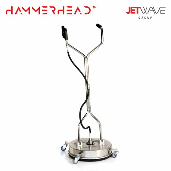 Jetwave Hammerhead 21'' Stainless Steel Flat Surface Cleaner