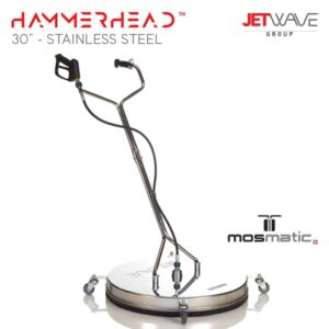 Jetwave Hammerhead 30'' Stainless Steel Flat Surface Cleaner